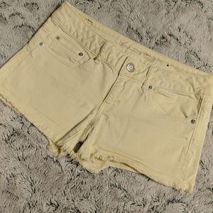 American Eagle cutoff jean shorts, size 6